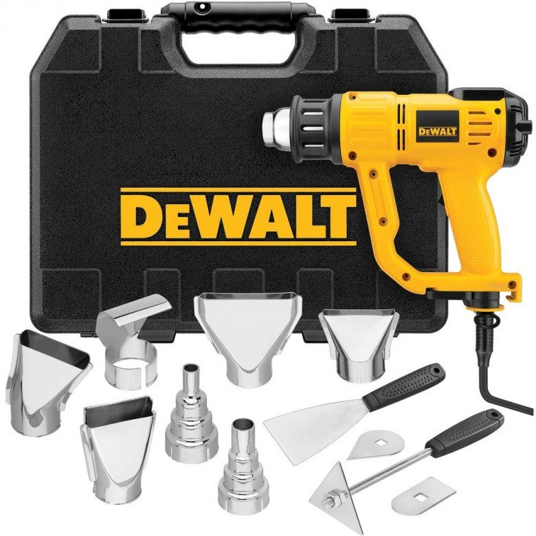 DEWALT Heat Gun with LCD Display Hard CaseAccessory Kit
