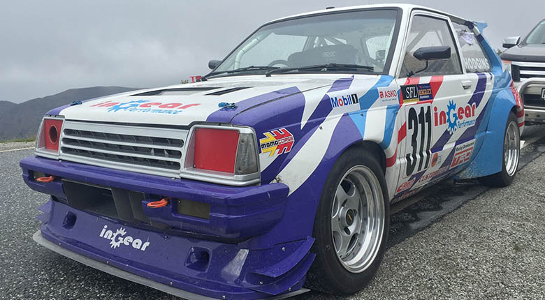 Toyota KP61 Starlet with Formula Atlantic 4AGE