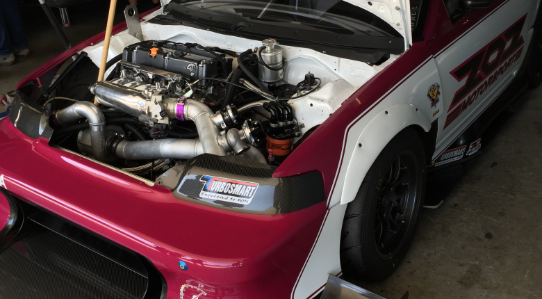 2.5L K24 Supercharged CRX - Mighty Mouse Time Attack Car