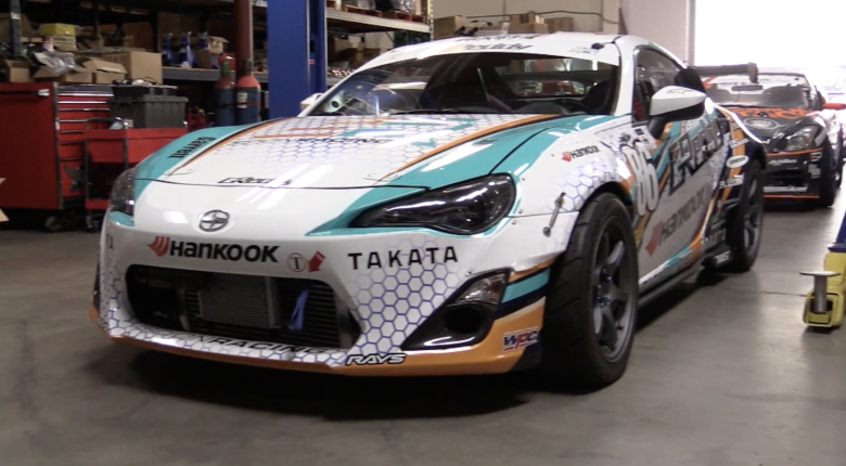 "[TECH TOUR] ""Drifting requires a lot of grip..."" 