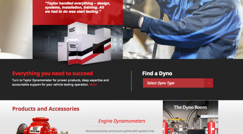 Taylor Dynamometer Launches New Website