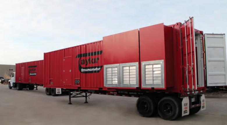 Taylor Dynamometer Mobile Dyno Facility